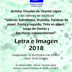 Letra e Imagen 2018 - en Concejo Deliberante