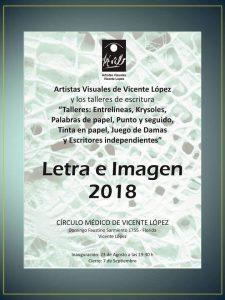 Flyer Letra e Imagen 2018-Circulo