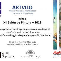 XII SALON DE PINTURA ARTVILO 2019