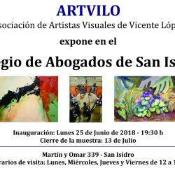 Muestra Colectiva en Colegio de Abogados de San Isidro
