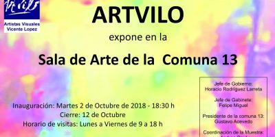 Muestra Colectiva en Sala de Arte CGP 13 – CABA