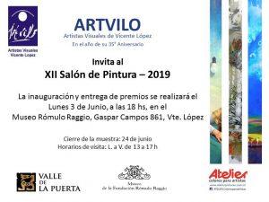 Invitacion Salon Pintura 2019